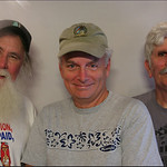 Jim Webb, Don Mussell and Rich Kirby, Whitesburg, KY, Story Corps picture May 14, 2011